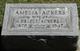 Profile photo:  Amelia R. <I>Stiers</I> Ackers