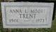 Anna Louise <I>Moore</I> Trent