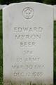 Edward Myron Beer
