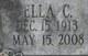 Ella Clara <I>Landa</I> Greenup