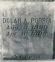 Dolar Albert Porria
