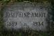 Josephine Mary <I>Vaudrin</I> Amiot