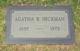 Profile photo:  Agatha Stuart <I>Robinson</I> Hickman