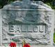 Bertha Elizabeth <I>Kaiser</I> Ballou