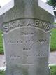 Profile photo:  Sarah A Bond
