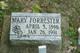 Mary <I>Moon</I> Forrester