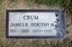 Profile photo:  Dorothy M. <I>Baker</I> Crum