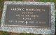 Profile photo:  Aaron Curtis Whitlow, Sr