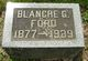 Rachel Blanche <I>Griffith</I> Ford
