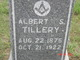 Profile photo:  Albert Sidney Tillery