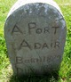 "Aaron Porter ""Port"" Adair"