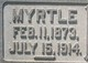 Profile photo:  Myrtle M <I>Boyd</I> Bellowes