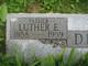 Luther Elmer Deener