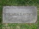 Columbia J. <I>Shelton</I> Anthon