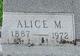 Alice M. Terry