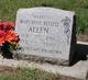 Mary Effie <I>Belless</I> Allen