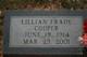 Lillian <I>Davis</I> Frady Cooper
