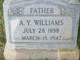 """Archibald Yell """"A. Y."""" Williams"""