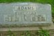 Mary E. <I>Dodd</I> Adams