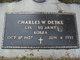 Charles W Detke