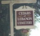 Cedars of Lebanon Cemetery
