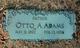 Otto August Friedrich Adams