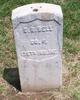 Pvt Charles R Bell