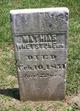 Mathias Whetstone, Sr