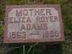 Eliza Angeline <I>Engle</I> Adams