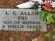 Profile photo:  L. C. Allen