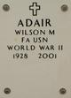Wilson Means Adair