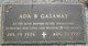 Profile photo:  Ada <I>Barrentine</I> Gasaway