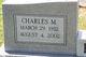 Charles Melvin Bishop