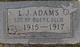 L. J. Adams