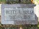 Profile photo:  Betty L Adler