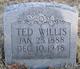 Teddy Willis