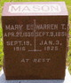 Profile photo:  Mary Ella <I>Griffen</I> Mason