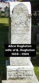 Profile photo:  Alice Evelyn <I>Benham</I> Hughston