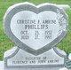 Profile photo:  Christine F <I>Amrine</I> Phillips