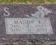 Profile photo:  Maude E. <I>McCall</I> Adams