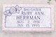 Ruby Ann Herrman