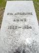 Profile photo:  Eva Angeline <I>Hatfield</I> Amme