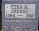 Profile photo:  Ezra B. Croddy