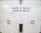 Hazel Viola <I>Aikins</I> Wills