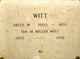 Ida Margurette <I>Brown</I> Miller Witt