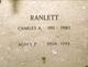 Charles A. Ranlett