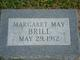 Margaret May Brill