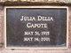 Profile photo:  Julia Delia Capote
