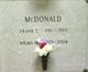 Wilma M. McDonald