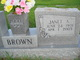 Janet Alice Brown